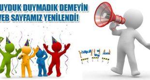 Haber sitemiz YENİLENDİ..