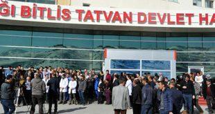 Bitlis'te psikiyatri uzmanı doktor, hasta tarafından darp edildi